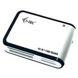 i tec USBALL3 lettore di schede Nero, Bianco USB 2.0
