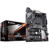 Gigabyte B450 AORUS ELITE scheda madre Presa AM4 ATX AMD B450