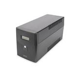 DIGITUS Line-Interactive UPS 1500VA/900W 12V/9Ah X2 battery 4x CEE 7/7 AVR USB RS232 RJ-11/45 LCD display
