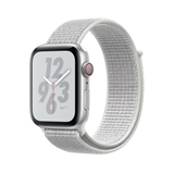 Apple Watch Nike+ Series 4 smartwatch Argento OLED Cellulare GPS (satellitare)