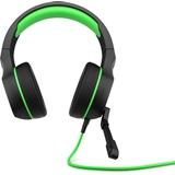 HP Pavilion Gaming 400 headset Cuffia Padiglione auricolare Nero, Verde