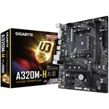 Gigabyte GA A320M H scheda madre Presa AM4 Micro ATX AMD A320