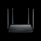 ASUS RT AC57U router wireless Dual band (2.4 GHz/5 GHz) Gigabit Ethernet Nero