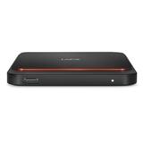 LaCie STHK500800 unità esterna a stato solido 500 GB Nero, Arancione