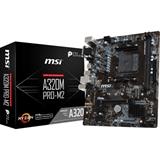 MSI A320M PRO M2 scheda madre Presa AM4 Micro ATX AMD A320