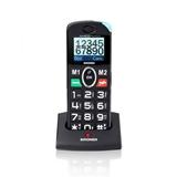 """Brondi Amico Pratico 4,5 cm (1.77"""") Nero Telefono per anziani"""