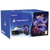 Sony PSVR MK4 + Camera + VR Worlds VCH Occhiali immersivi FPV Nero, Bianco 610 g
