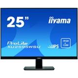 IIYAMA ProLite XU2595WSU-B1 25inch 63.5cm WUXGA IPS panel LED Bl Speakers DisplayPort HDMI VGA 4ms black