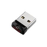 Sandisk Cruzer Fit unità flash USB 64 GB USB tipo A 2.0 Nero, Argento