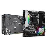 Asrock B450M Steel Legend scheda madre Presa AM4 Micro ATX AMD B450