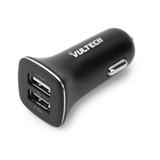 Caricatore Da Auto Vultech CA-048 Con Doppia Uscita USB (Max 4.8A)