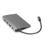 ROLINE 12.02.1021 replicatore di porte e docking station per notebook Cablato USB 3.2 Gen 2 (3.1 Gen 2) T