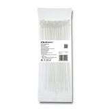 Qoltec 52199 fascetta Fascetta per scala Nylon Bianco 100 pezzo(i)