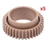 5xUpper Roller Gear 38T Aficio 1515,MP162,MP171#B044-4170