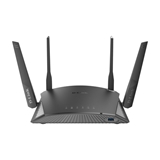 D-Link DIR-2660 router wireless Dual-band (2.4 GHz/5 GHz) Gigabit Ethernet Nero