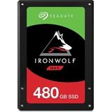 """Seagate IronWolf 110 drives allo stato solido 2.5"""" 480 GB Serial ATA III 3D TLC"""