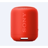 Sony SRS-XB12, speaker compatto, portatile, resistente all'acqua con EXTRA BASS, rosso