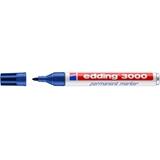 Edding 3000 marcatore permanente Blu Tipo di punta