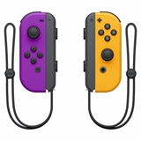 Nintendo Joy Con Gamepad Nintendo Switch Analogico/Digitale Bluetooth Nero, Arancione, Porpora