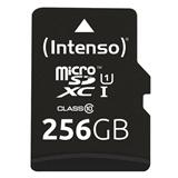 Intenso microSD Karte UHS-I Premium memoria flash 256 GB Classe 10