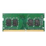 Synology D4NESO 2666 4G memoria 4 GB 1 x 4 GB DDR4 2666 MHz