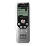 Philips DVT1250 dittafono Memoria interna e scheda di memoria Nero, Grigio