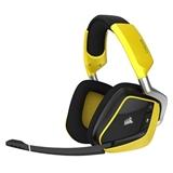 Corsair VOID PRO RGB Wireless SE Premium Stereofonico Padiglione auricolare Giallo