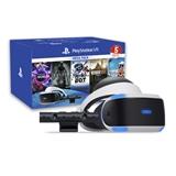 Sony PS VR Mega Pack v2 Occhiali immersivi FPV Nero, Bianco 610 g