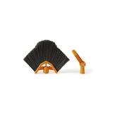 Perfetto 0059C accessorio per la scopa Testa della scopa Nero, Arancione