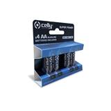 Celly ALKALINEAAA4P batteria per uso domestico Batteria monouso Mini Stilo AAA Alcalino