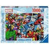 Ravensburger Challenge Marvel Puzzle di contorno 1000 pezzo(i)