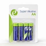 gembird eg-ba-aa4-01 batteria per uso domestico batteria monouso stilo aa alcalino
