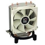 LC Power LC CC 95 ventola per PC Processore Refrigeratore 9,2 cm Argento, Bianco