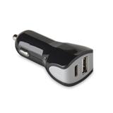 Celly CCTYPECUSBBK Caricabatterie per dispositivi mobili Nero Auto