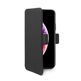 Celly Privacy 3D Glass custodia per cellulare 16,5 cm (6.5) Custodia a libro Nero