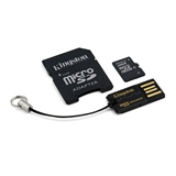 Kingston Technology 32GB Multi Kit 32GB MicroSDHC Flash Class 10 memoria flash