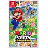Nintendo Mario Party Superstars Basic Cinese semplificato, Cinese tradizionale, Tedesca, DUT, Inglese, ESP, Francese, ITA, Giapponese, Coreano, Russo Nintendo Switch