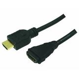 LogiLink HDMI/HDMI, 2.0m cavo HDMI 2 m HDMI tipo A (Standard) Nero