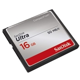 Sandisk 16GB CF Ultra memoria flash CompactFlash
