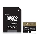 Apacer microSDXC UHS I Class10 64GB memoria flash Classe 10