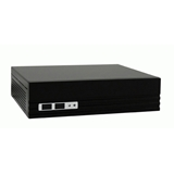 Case Mini-ITX 75W LC-Power LC-1340MI Ext. PSU Audio 2USB Black