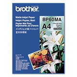 Brother BP60MA Inkjet Paper carta inkjet A4 (210x297 mm) Opaco 25 fogli Bianco