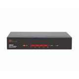 Hamlet Switch di rete a 5 porte sistema automatico per riconoscimento velocità 10/100 Mbps in metallo