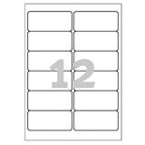 Avery L4776-20 etichetta per stampante Bianco