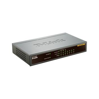 D-Link DES-1008PA switch di rete Non gestito Fast Ethernet (10/100) Supporto Power over Ethernet (PoE) Nero