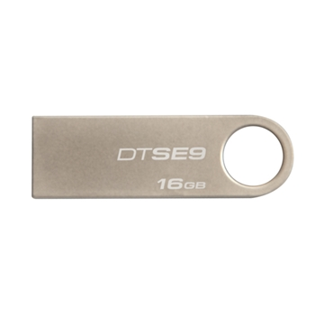 KINGSTON 16GB USB2.0 DATATRAVELER SE9 (METAL CASING)