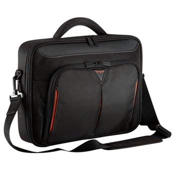 Targus 13 - 14.1 inch / 33 - 35.8cm Classic+ Clamshell Case, black and red
