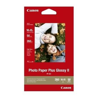 CANON PP-201 4 X 6 PHOTO PAPER 50FG.