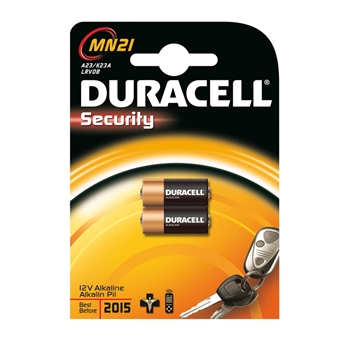 DURACELL CF2DUR SPECIAL. SECURITY MN 21