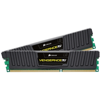 CORSAIR DDR3 1600MHz 16GB Kit 2x8GB Dimm Unbuffered 10-10-10-27 with Vengeance Low Profile Heat Spreader - Core i5 i7 Core 2 1.5V